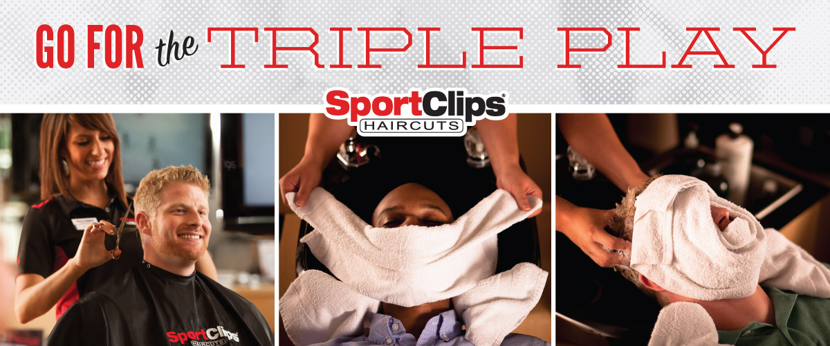 The Sport Clips Haircuts of Bel Air Triple Play